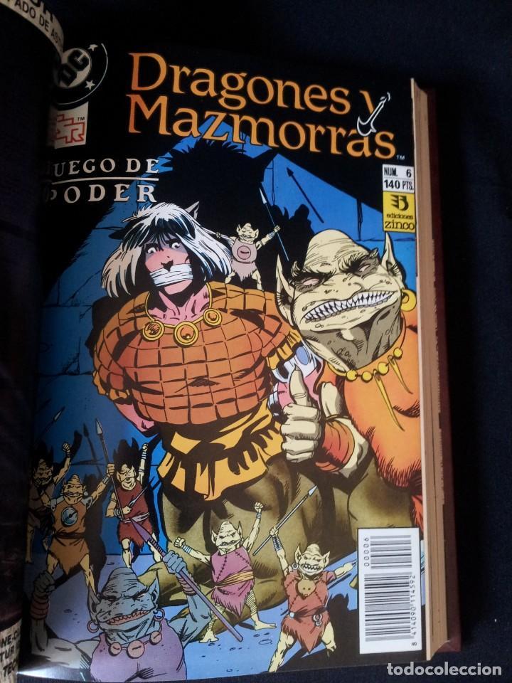 Cómics: DRAGONES Y MAZMORRAS - 12 NUMEROS, EDICIONES ZINCO AMERICANA + 4 NUMEROS CORMAC MAC ART - NORMA EDIT - Foto 13 - 133267786