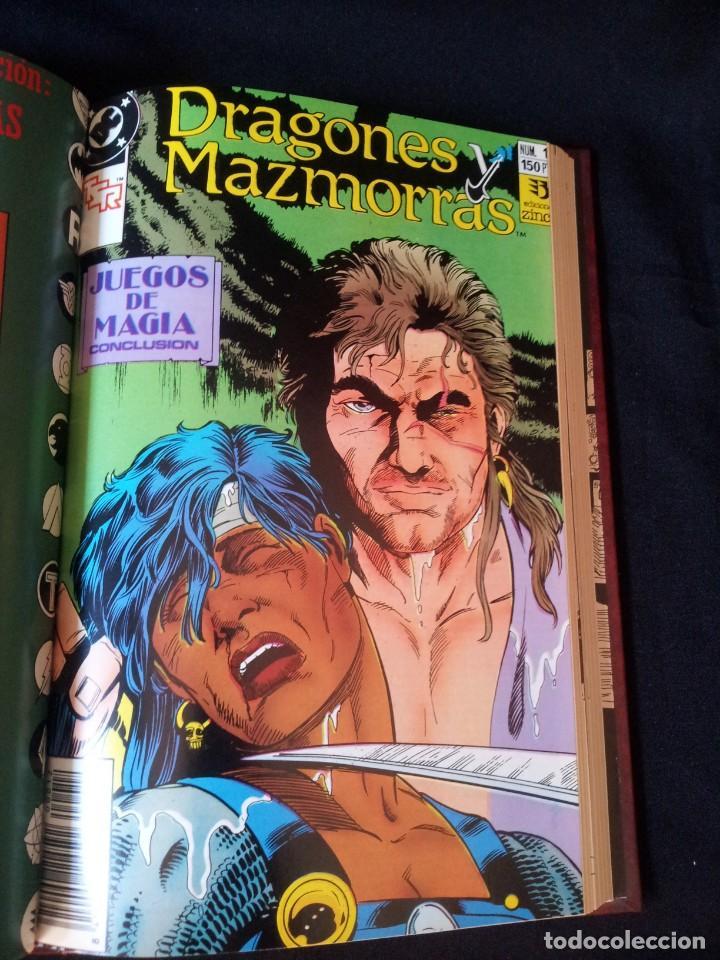 Cómics: DRAGONES Y MAZMORRAS - 12 NUMEROS, EDICIONES ZINCO AMERICANA + 4 NUMEROS CORMAC MAC ART - NORMA EDIT - Foto 25 - 133267786