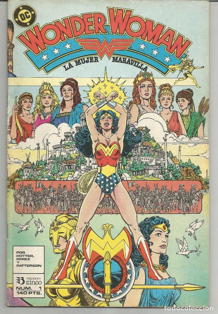 WONDER WOMAN EDICIONES ZINCO Nº 1 (Tebeos y Comics - Zinco - Otros)