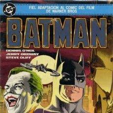 Cómics: BATMAN NUMERO EXTRA FIEL ADAPTACION AL COMIC DEL FILM DE WARNER BROS. COLECCION COMPLETA DE 1 NUMERO. Lote 185960741