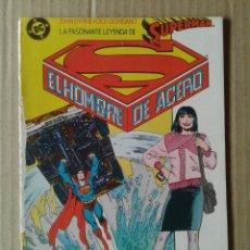 Cómics: LA FASCINANTE LEYENDA DE SUPERMAN EL HOMBRE DE ACERO N°2 (ZINCO, 1987). PRESENTANDO A LOIS LANE.. Lote 133396825