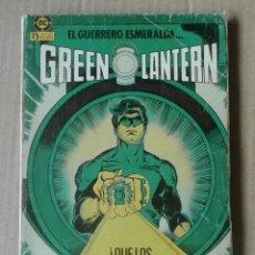 Cómics: RETAPADO GREEN LANTERN, NÚMEROS 1-2-4-5-6 (EDICIONES ZINCO, 1986). EL GUERRERO ESMERALDA.. Lote 133460051