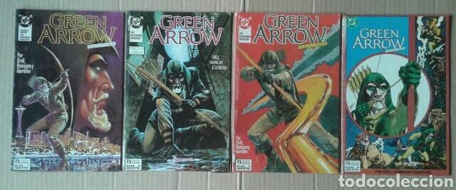 LOTE GREEN ARROW / FLECHA VERDE, NÚMEROS 1-2-3-4-5-6-7-8 (EDICIONES ZINCO, 1989). CON CANARIO NEGRO. (Tebeos y Comics - Zinco - Otros)