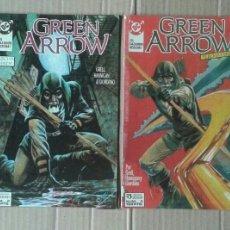 Cómics: LOTE GREEN ARROW / FLECHA VERDE, NÚMEROS 1-2-3-4-5-6-7-8 (EDICIONES ZINCO, 1989). CON CANARIO NEGRO.. Lote 133460846
