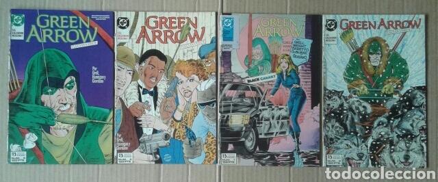 Cómics: Lote Green Arrow / Flecha Verde, números 1-2-3-4-5-6-7-8 (Ediciones Zinco, 1989). Con Canario Negro. - Foto 2 - 133460846