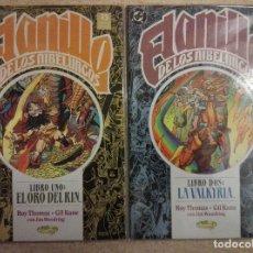 Cómics: EL ANILLO DE LOS NIBELUNGOS COMPLETA. Lote 133481106