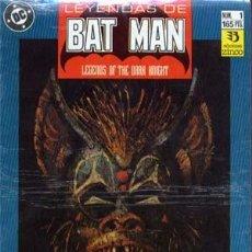 Cómics: LEYENDAS DE BATMAN. COLECCON COMPLETA DE 44 NUMEROS. Lote 133491826