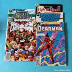 Cómics: LOTE COMICS DC. DEADMAN. GREEN LANTERN. PATRULLA CONDENADA.. Lote 133516110