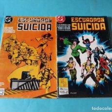 Cómics: ESCUADRON SUICIDA #4 #6. Lote 133516210