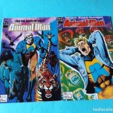 Cómics: ANIMAL MAN 1 Y 2. GRANT MORRISON. Lote 133516310