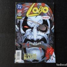 Cómics: LOBO. Nº 10. AL PIE DEL MASTIL. NORMA EDITORIAL DC COMICS ZINCO. Lote 205122627