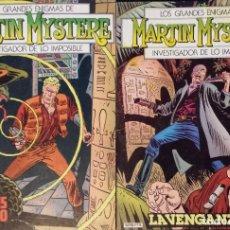 Cómics: MARTIN MYSTERE Nº 1 Y 2 – EDICIONES ZINCO. 1982. Lote 133714874