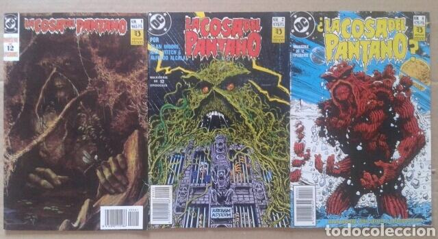 Cómics: Lote La Cosa del Pantano (números 1-2-4-6-8-9 de la maxiserie de 12 episodios por Alan Moore) - Foto 2 - 90961570