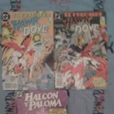 Cómics: HAWK & DOVE: HALCON Y PALOMA: OBRA COMPLETA EN 1 TOMO + LOS DOS NUMEROS DE DC PREMIERE: ZINCO. Lote 133779698