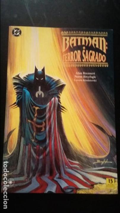 BATMAN TERROR SAGRADO, PRESTIGIO ZINCO MUY BUEN ESTADO (Tebeos y Comics - Zinco - Prestiges y Tomos)
