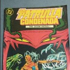 Cómics: LA PATRULLA CONDENADA N° 2 COMICS DC ESTADO BUENO PRECIO NEGOCIABLE. Lote 217885798