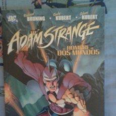 Cómics: ADAM STRANGE: EL HOMBRE DE DOS MUNDO: ADAM Y ANDY KUBERT: PLANETA. Lote 133868110