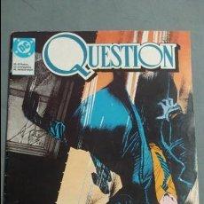Cómics: QUESTION N° 1 COMICS DC ESTADO MUY BUENO PRECIO NEGOCIABLE POSIBILIDAD SUELTOS. Lote 133881046