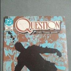 Cómics: QUESTION N° 2 COMICS DC ESTADO MUY BUENO PRECIO NEGOCIABLE POSIBILIDAD SUELTOS. Lote 133881114