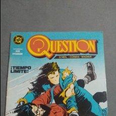 Cómics: QUESTION N° 3 COMICS DC ESTADO MUY BUENO PRECIO NEGOCIABLE POSIBILIDAD SUELTOS. Lote 133881154