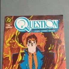 Cómics: QUESTION N° 4 COMICS DC ESTADO MUY BUENO PRECIO NEGOCIABLE POSIBILIDAD SUELTOS. Lote 133881194