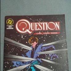 Cómics: QUESTION N° 5 COMICS DC ESTADO MUY BUENO PRECIO NEGOCIABLE POSIBILIDAD SUELTOS. Lote 133881282