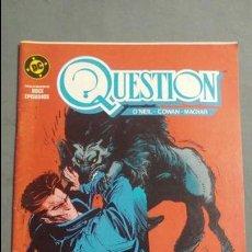 Cómics: QUESTION N° 7 COMICS DC ESTADO MUY BUENO PRECIO NEGOCIABLE POSIBILIDAD SUELTOS. Lote 133881374