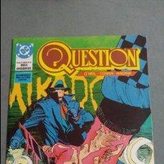 Cómics: QUESTION N° 8 COMICS DC ESTADO MUY BUENO PRECIO NEGOCIABLE POSIBILIDAD SUELTOS. Lote 133881870