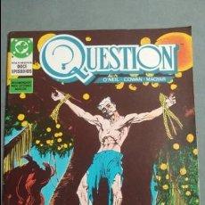 Cómics: QUESTION N° 9 COMICS DC ESTADO MUY BUENO PRECIO NEGOCIABLE POSIBILIDAD SUELTOS. Lote 133881906