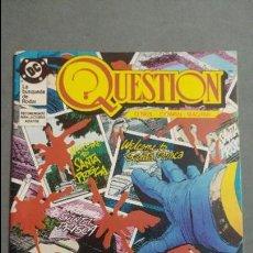 Cómics: QUESTION N° 10 COMICS DC ESTADO MUY BUENO PRECIO NEGOCIABLE POSIBILIDAD SUELTOS. Lote 133881934