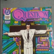 Cómics: QUESTION N° 11 COMICS DC ESTADO MUY BUENO PRECIO NEGOCIABLE POSIBILIDAD SUELTOS. Lote 133881986