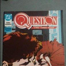Cómics: QUESTION N° 12 COMICS DC ESTADO MUY BUENO PRECIO NEGOCIABLE POSIBILIDAD SUELTOS. Lote 133882042
