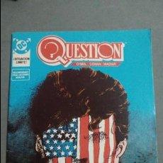 Cómics: QUESTION N°14 COMICS DC ESTADO MUY BUENO PRECIO NEGOCIABLE POSIBILIDAD SUELTOS. Lote 133882074