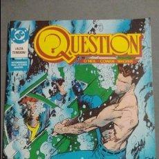 Cómics: QUESTION N°13 COMICS DC ESTADO MUY BUENO PRECIO NEGOCIABLE POSIBILIDAD SUELTOS. Lote 133882138