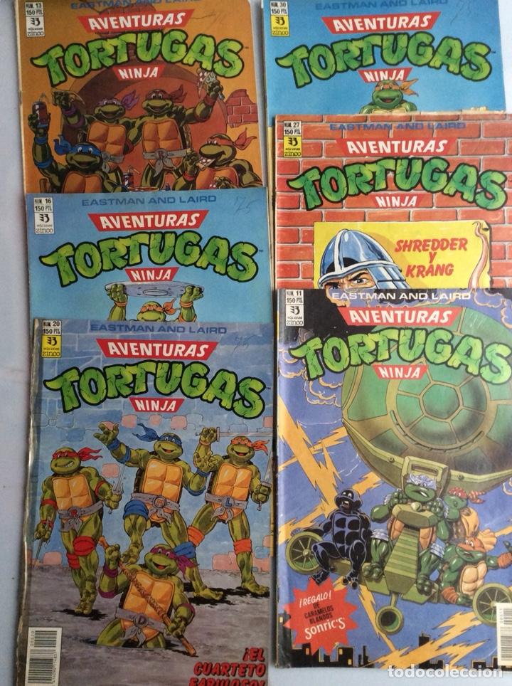 Cómics: AVENTURAS TORTUGAS NINJA - LOTE DE 22 EJEMPLARES - EDITA: ZINCO ( DC ) - Foto 2 - 133839378