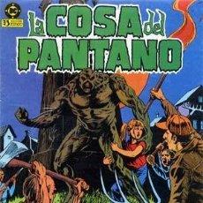 Cómics: LA COSA DEL PANTANO 1ª SERIE. COLECCION COMPLETA DE 10 NUMEROS. Lote 261908705