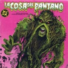 Cómics: LA COSA DEL PANTANO. COLECCION COMPLETA DE 12 NUMEROS. Lote 242110405