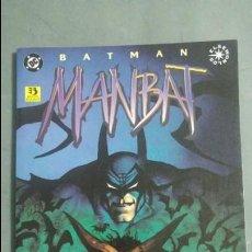 Cómics: BATMAN MANBAT EDI.ZINCO ESTADO NORMAL PRECIO NEGOCIABLE. Lote 134235846
