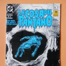 Comics: LA COSA DEL PANTANO. NÚM. 5. MAXISERIE DE 12 EPISODIOS. - ALAN MOORE, RICK VEITCH & ALFREDO ALCALA. Lote 134254034