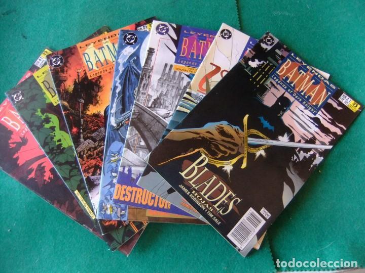 LEYENDAS DE BATMAN ZINCO LOTE DE 10 NUMEROS (Tebeos y Comics - Zinco - Batman)