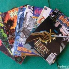 Cómics: LEYENDAS DE BATMAN ZINCO LOTE DE 10 NUMEROS. Lote 134273934