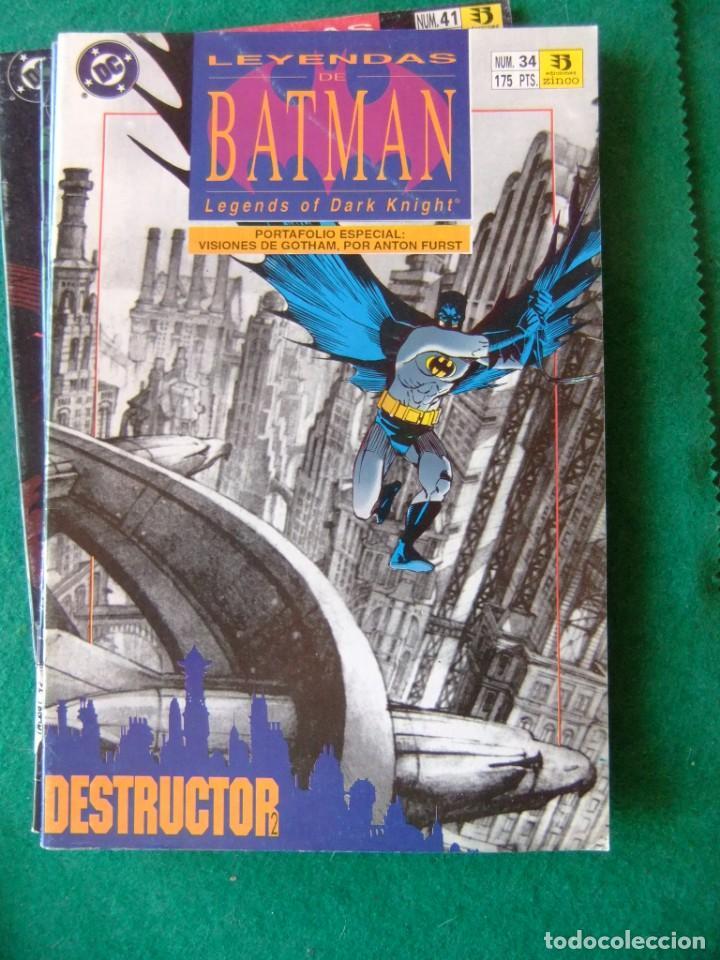 Cómics: LEYENDAS DE BATMAN ZINCO LOTE DE 10 NUMEROS - Foto 4 - 134273934