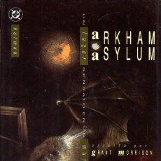 Cómics: BATMAN: ARKHAM ASYLUM (ZINCO). Lote 134376366