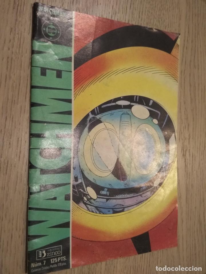 WATCHMEN Nº 7. EDICIONES ZINCO. 1987 (Tebeos y Comics - Zinco - Otros)