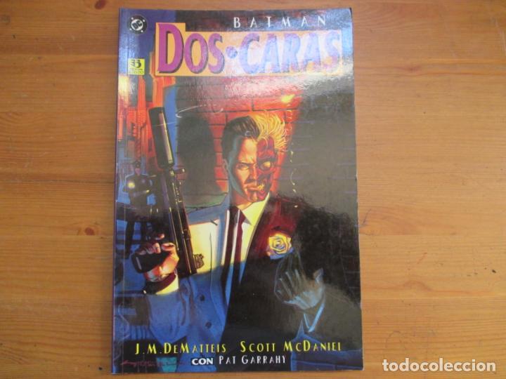 BATMAN. DOS CARAS. J.M. DEMATTEIS. EDICIONES ZINCO (Tebeos y Comics - Zinco - Prestiges y Tomos)