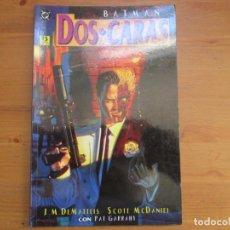 Cómics: BATMAN. DOS CARAS. J.M. DEMATTEIS. EDICIONES ZINCO. Lote 134830662