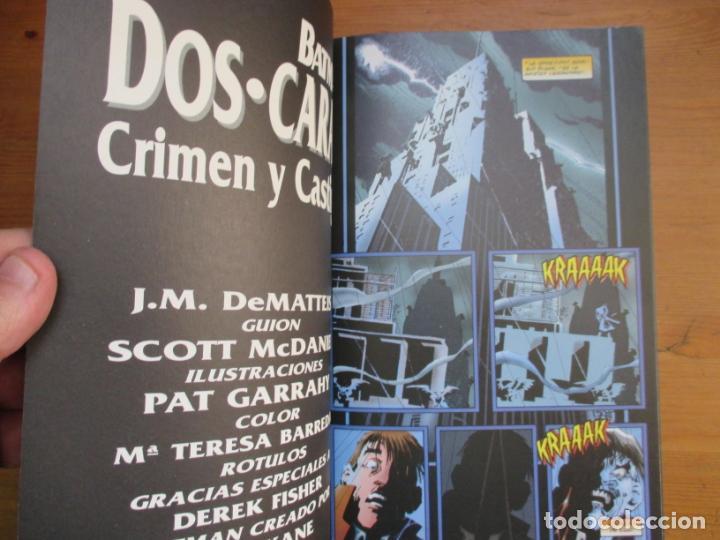 Cómics: Batman. dos caras. J.M. DeMatteis. Ediciones Zinco - Foto 2 - 134830662