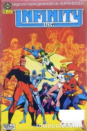 INFINITY - ED. ZINCO - COLECCION COMPLETA DE 22 NUMEROS (Tebeos y Comics - Zinco - Infinity Inc)