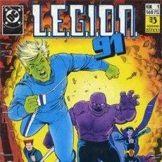 Cómics: LEGION 91 - ED. ZINCO - COLECCION COMPELTA DE 15 NUMEROS + 1 EXTRA. Lote 134865718