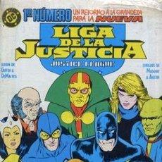 Cómics: LIGA DE LA JUSTICIA AMERICA - ED. ZINCO - COLECCION COMPLETA DE 54 NUMEROS + 5 EXTRAS. Lote 134866166